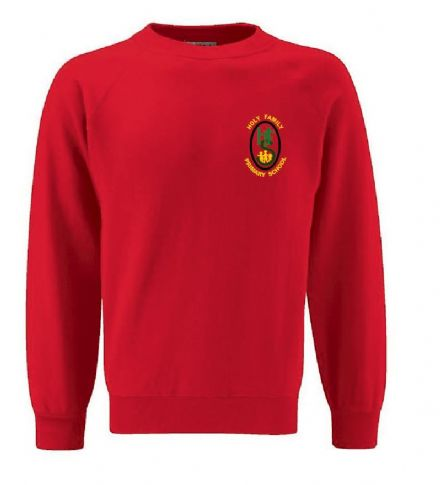 Holy Family Primary Red Sweatshirt